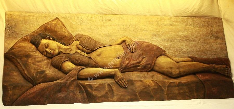 Umenie drevorezba, Kunst Holzschnitzer, Art woodcarving