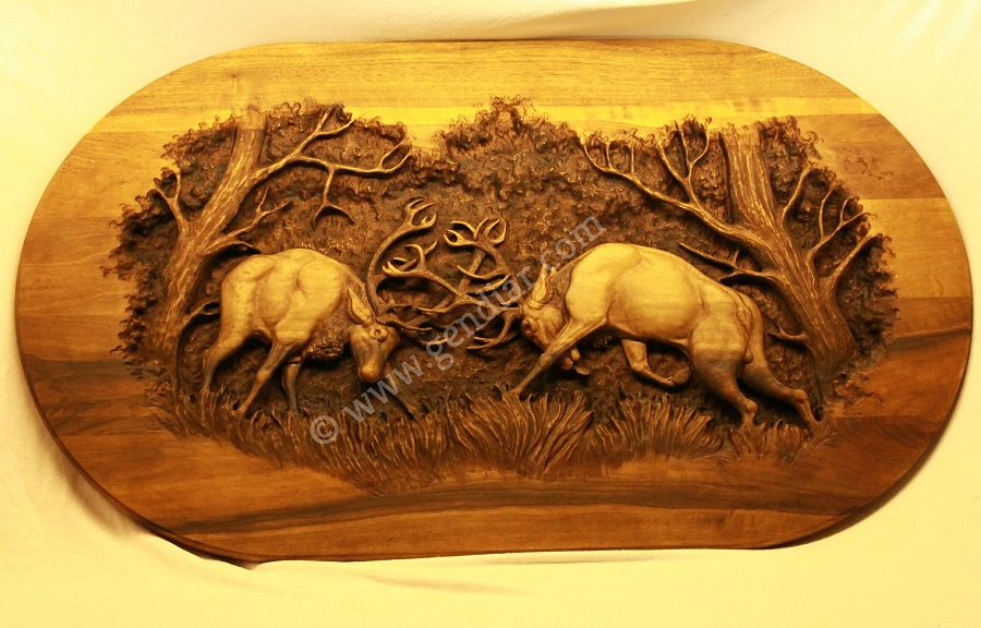 Umelecké rezbárstvo Gendiar - Gendiar wood carving